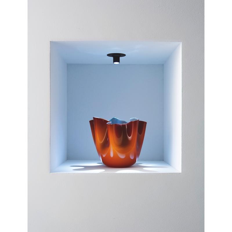 Vstavané bodové svietidlo LED – Eye - BODOVA-LED-EYE-CIERNA-LD1-WW