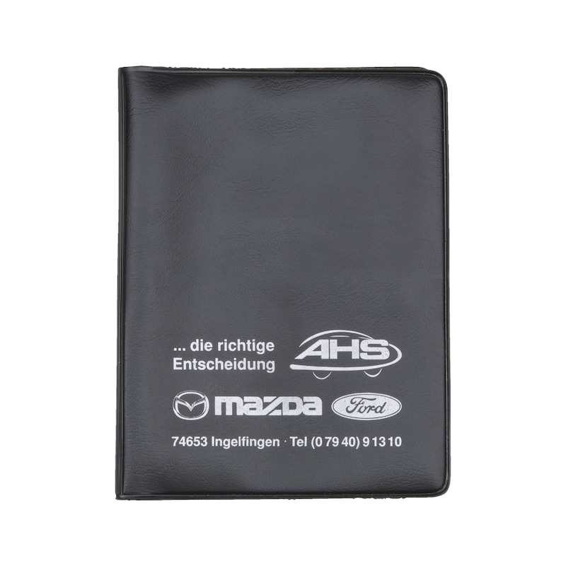 Plastic driving licence wallet - 1