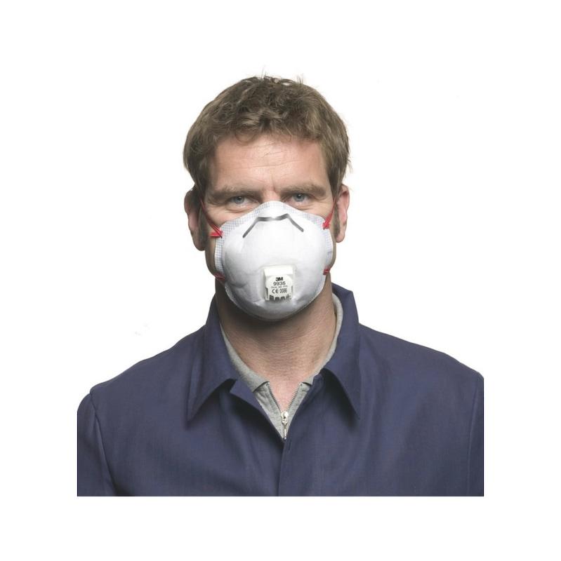 Spezial-Atemschutzmaske Komfort FFP3 R D, vorgeformt 3M - 2