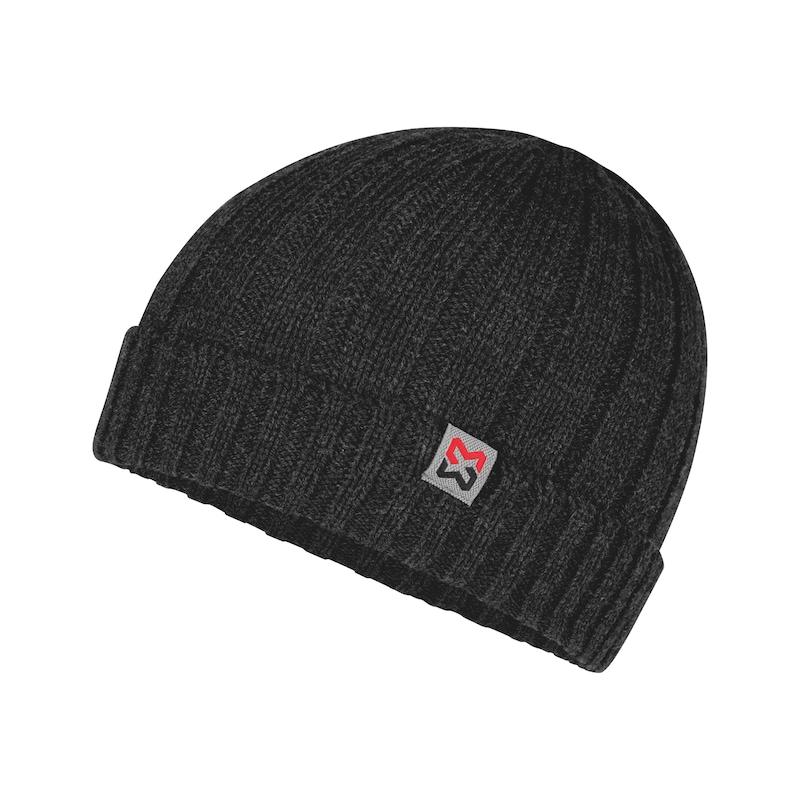 Bonnet tricoté élastique - 0