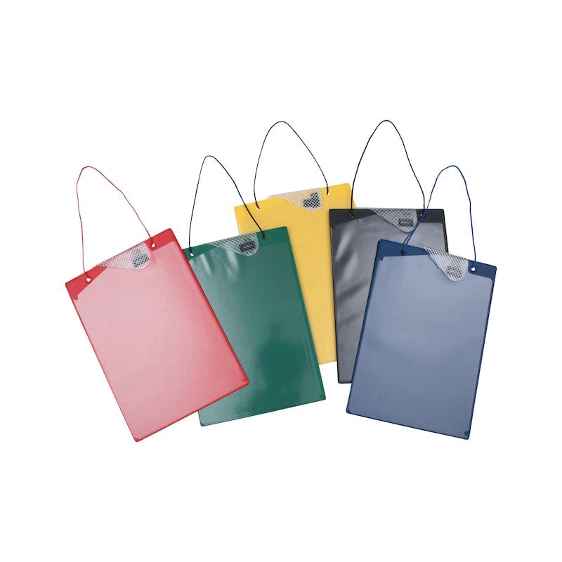 Auftragsschutztasche mit Klettverschluss
