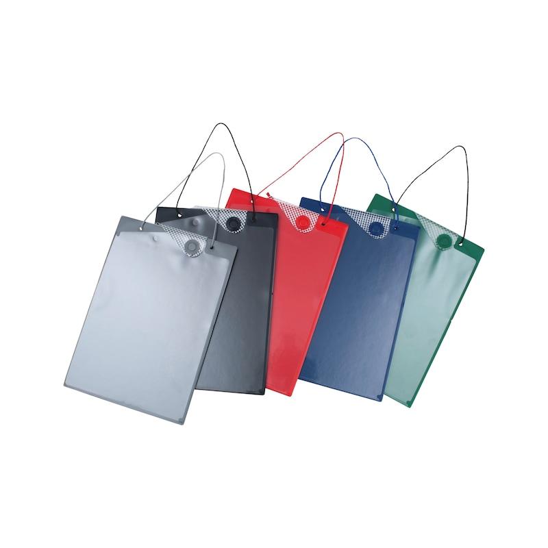 Auftragsschutztasche mit Magnetverschluss
