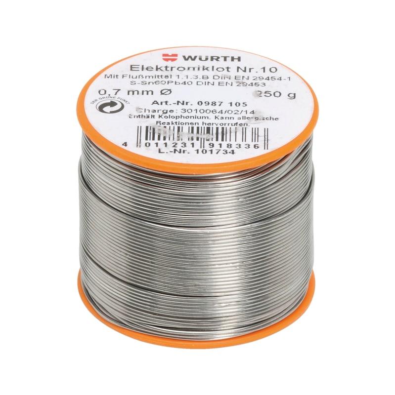 Lut do układów elektronicznych nr 10 - LUT DLA ELEKTR.NR10-SR=0.7MM/250G