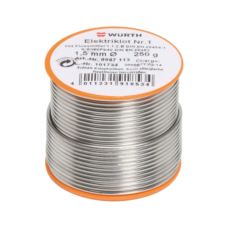 Lut do układów elektronicznych nr 1 - LUT ELEKTRYCZNY NR.1 -1,5 MM - 250G
