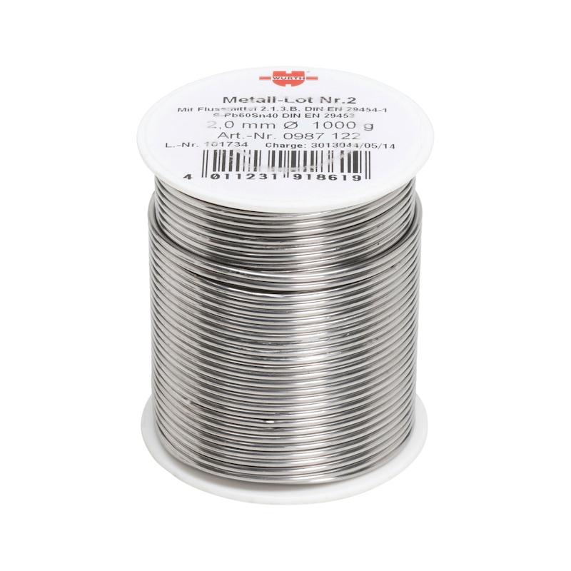 Metal solder no. 2