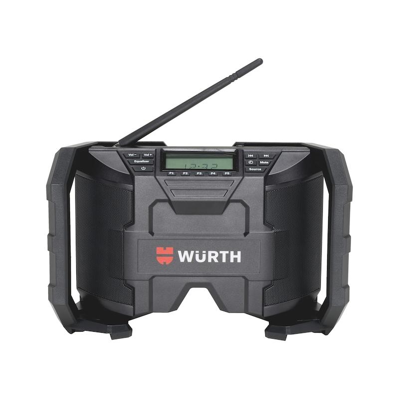 Rádio de estaleiro de obras a bateria RA 12-A - RADIO A BATERIA RA 12-A