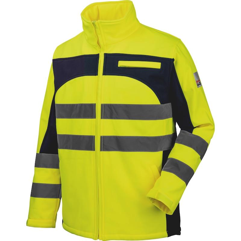Softshell de travail Würth MODYF haute-visibilité jaune