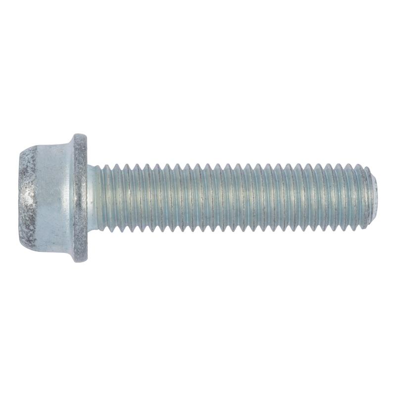 Rippschraube Zylinderkopf mit Innensechskant Inbus Ripp<SUP>®</SUP> - 1