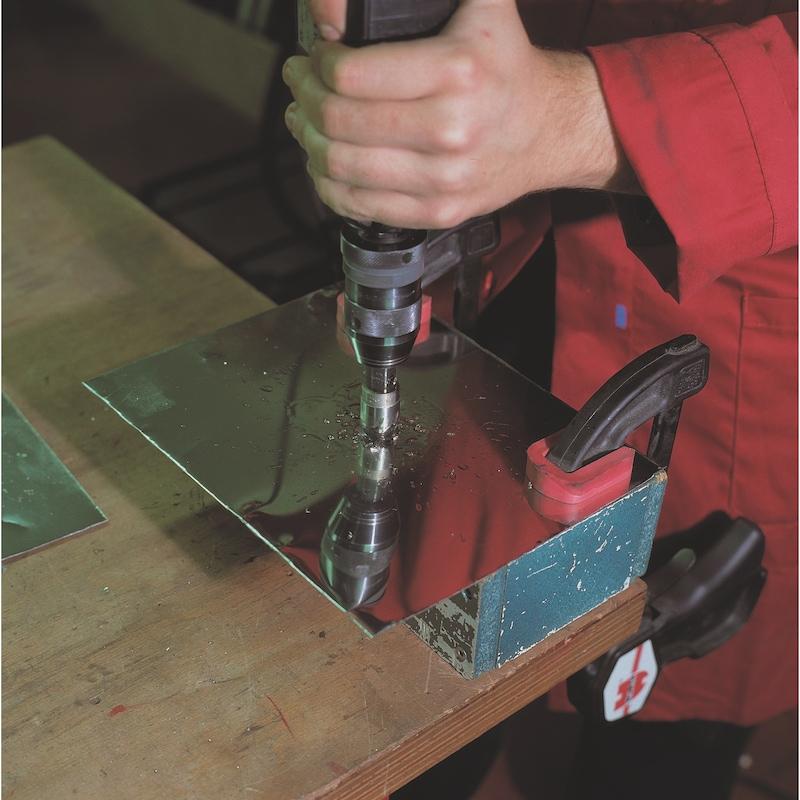 Sega a tazza HSS con formatruciolo - 3
