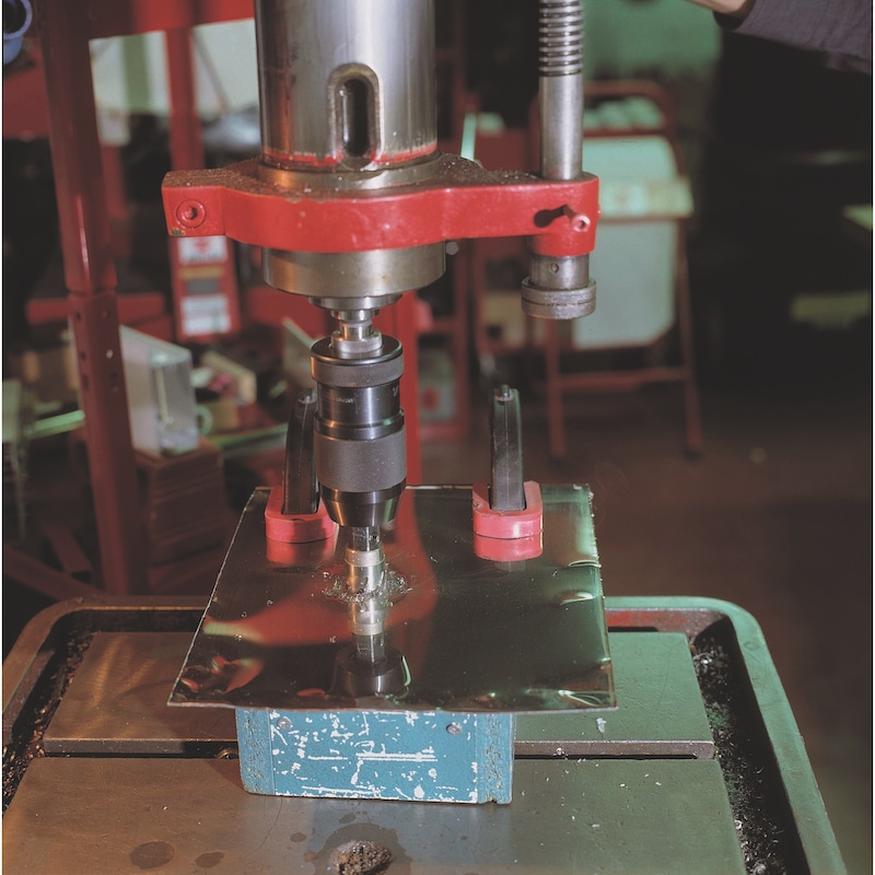 Sega a tazza HSS con formatruciolo - 4