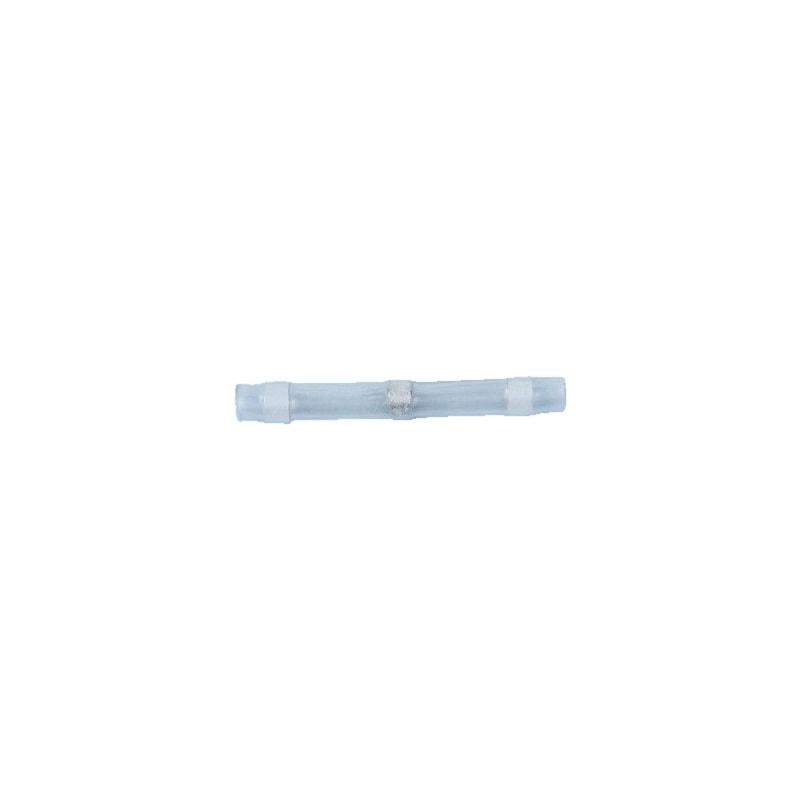 Heat-shrink solder butt connector - BUTTCON-SLDR-HSHRTUBE-WHITE-1,7MM