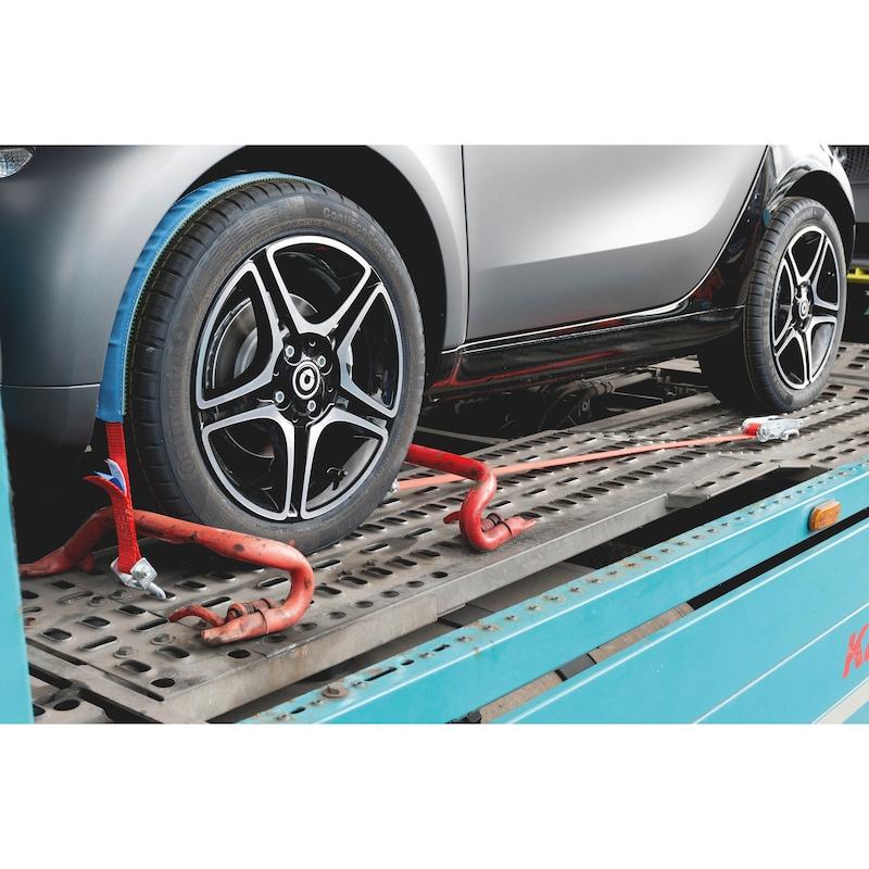 Ratschenzurrgurt für Autotransporte - 5