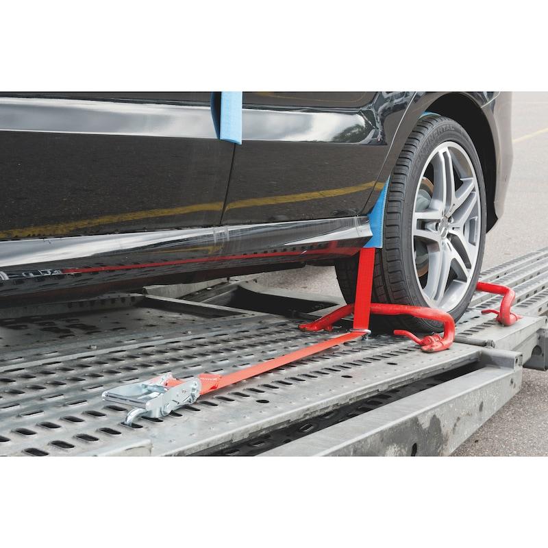 Ratschenzurrgurt für Autotransporte - 6