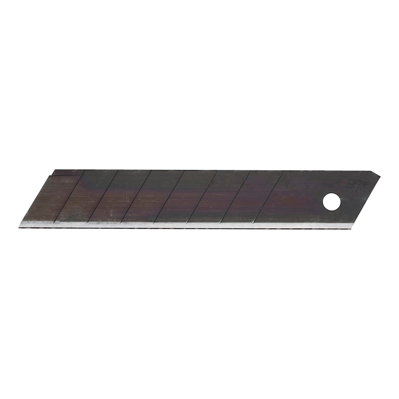 Snap-off blade - BLDE-KNFE-BREAKOFF-BLACK-18MM