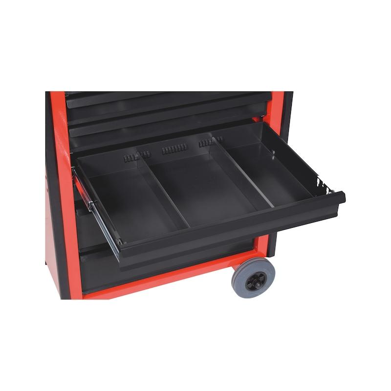 工具システムCワークショップトロリー用パーティション - 工具箱仕切り65MM引出し用