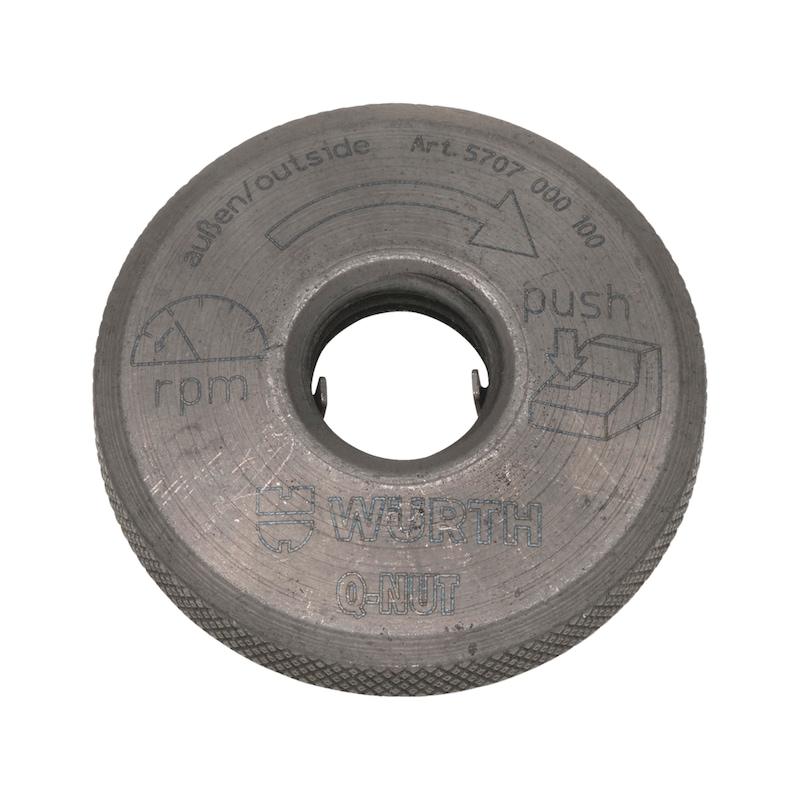 Porca de aperto rápido Q-Nut - AY-QCKCHANGENUT-AG-UPTO150MM-Q-NUT