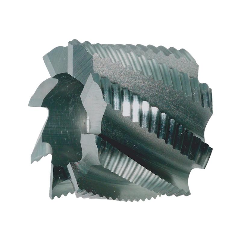Walzenstirnfräser HSCo DIN 1880 Typ HR - 1