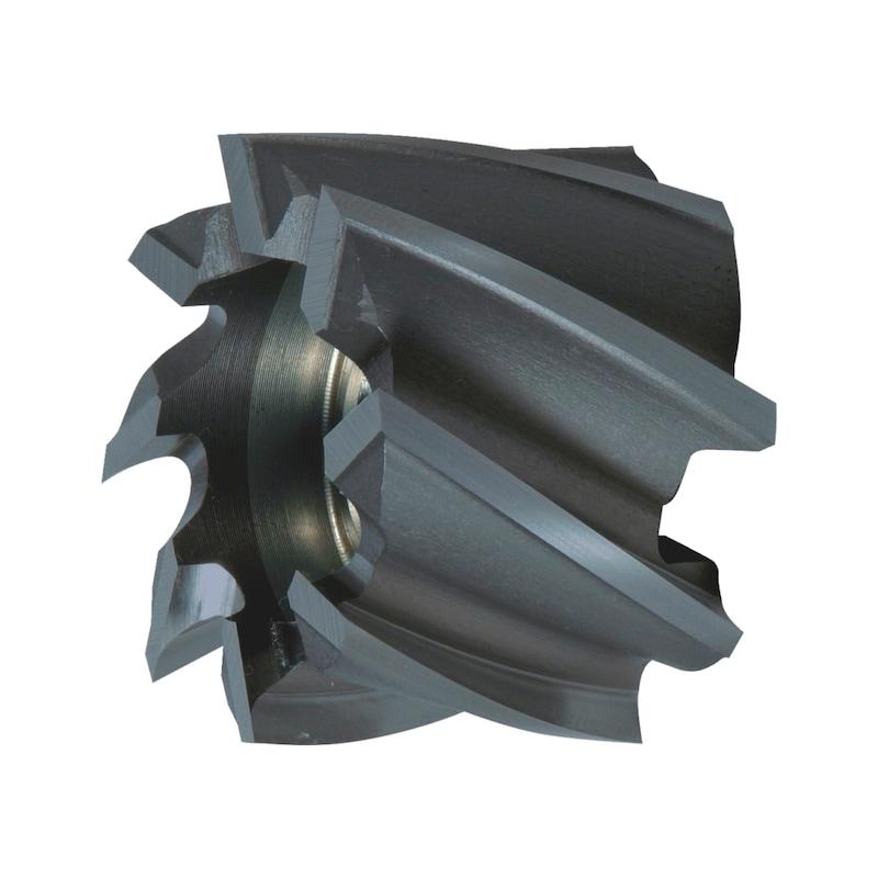 Walzenstirnfräser HSCo DIN 1880 Typ N TIALN - 1