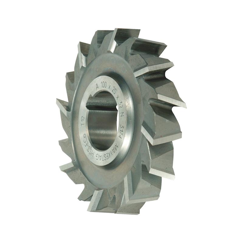 Scheibenfräser HSCo DIN 885A Kreuzverzahnt Typ N - 1