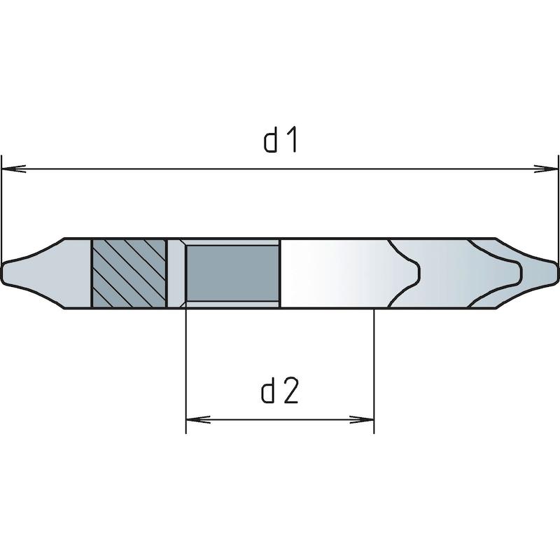 Zahnformfräser HSS Eingriffswinkel 20° - 0