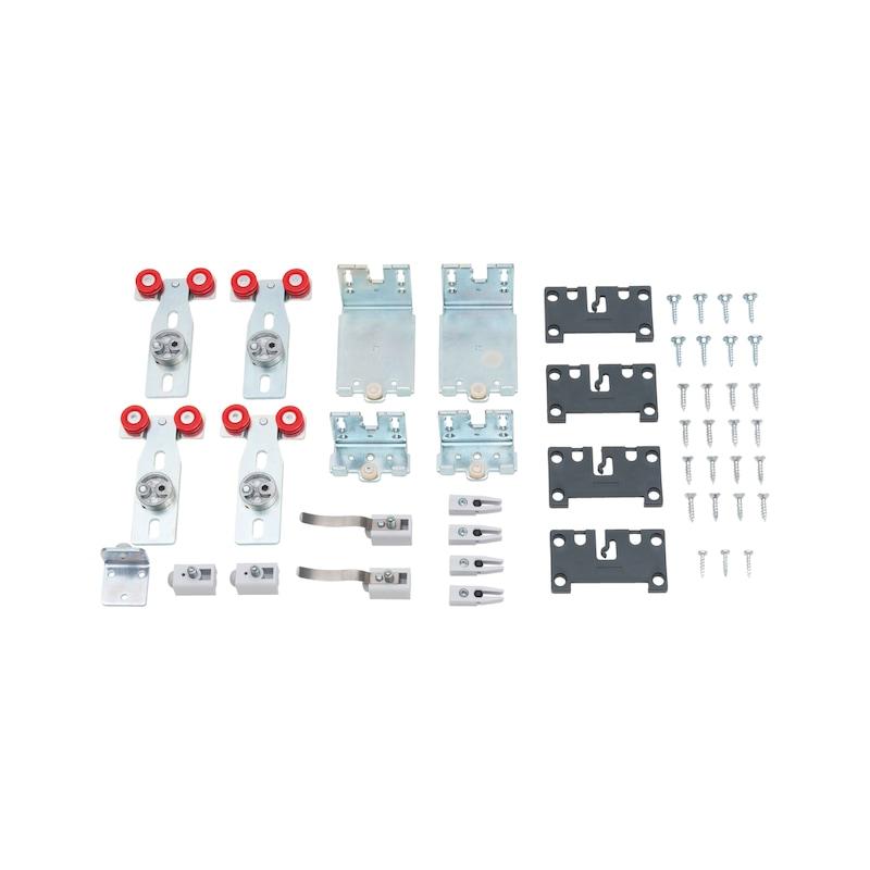 Möbelschiebetürbeschlag-Set redoslide M30-HC - SHIEBTRBSHLG-REDOSLID-M30-HC-2TR