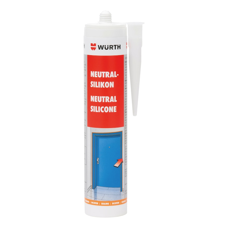 Neutral silicone - SILSEAL-NEUT-CONCRETEGREY-310ML