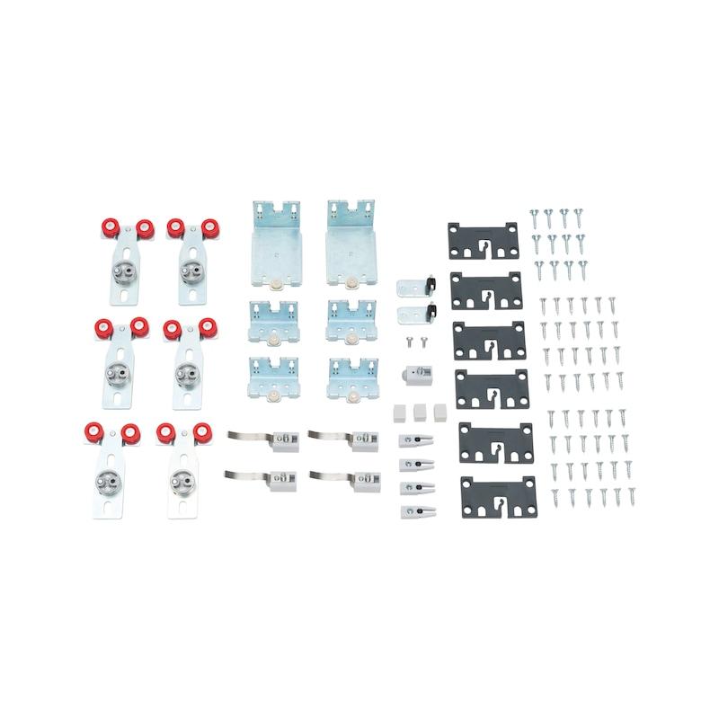Möbelschiebetürbeschlag-Set redoslide M30-HC - 1