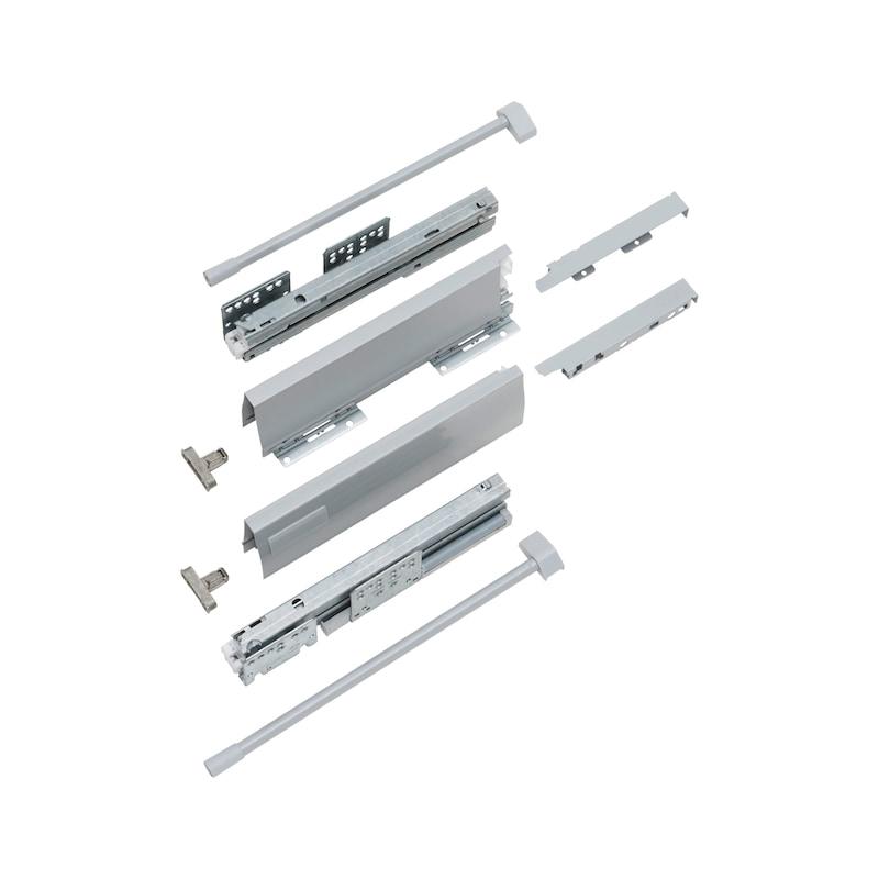 Frontauszug-Set DWD XP Soft-close - 1