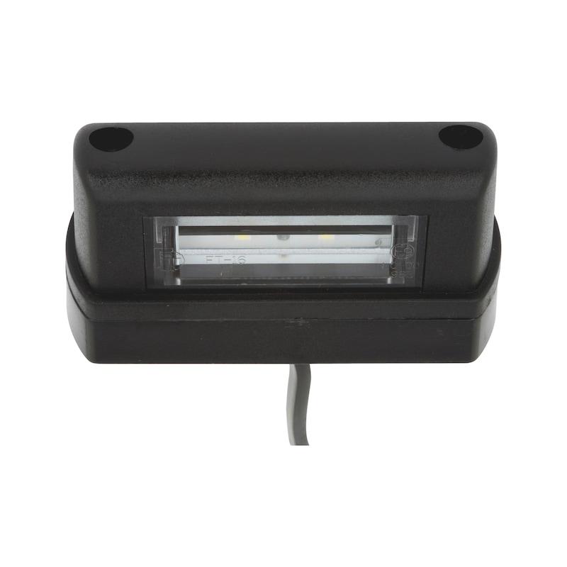 LED-Kennzeichenleuchte 12 V/24 V - 1