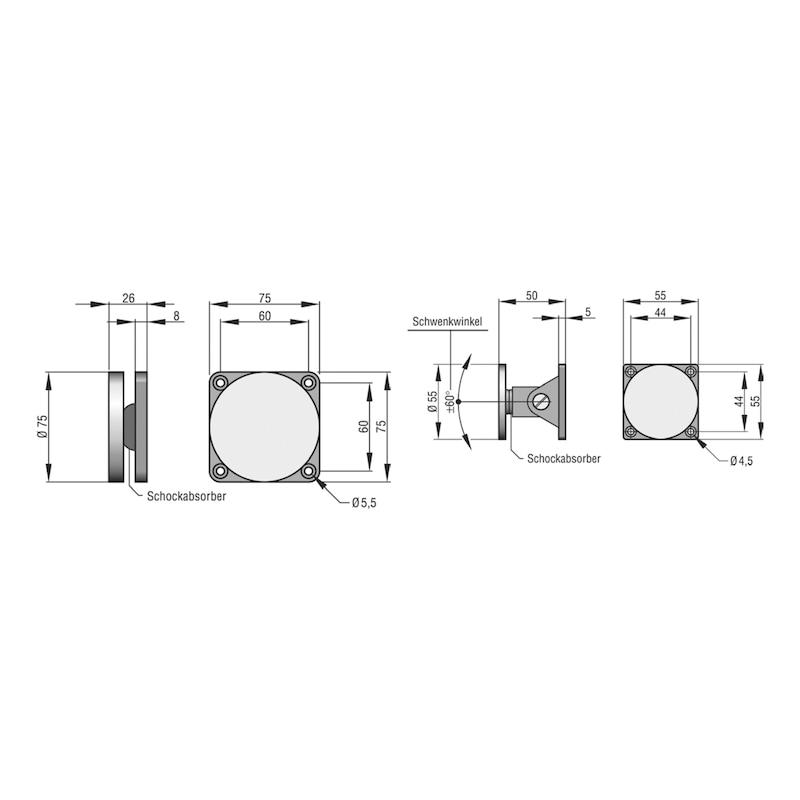 Winkelankerplatte AFS 65 - 2