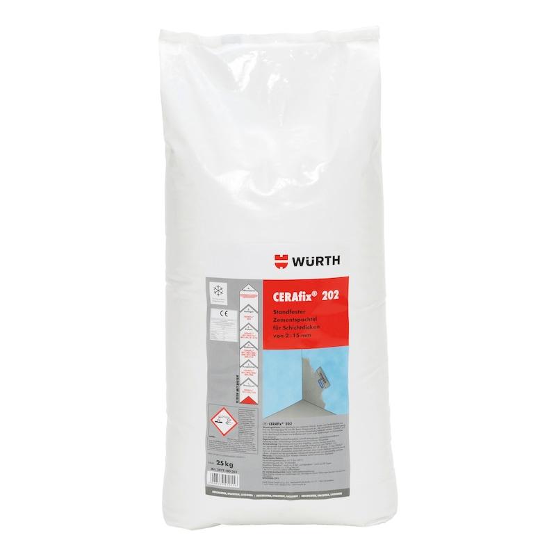Zementreparaturspachtel CERAfix<SUP>®</SUP> 202 - 1