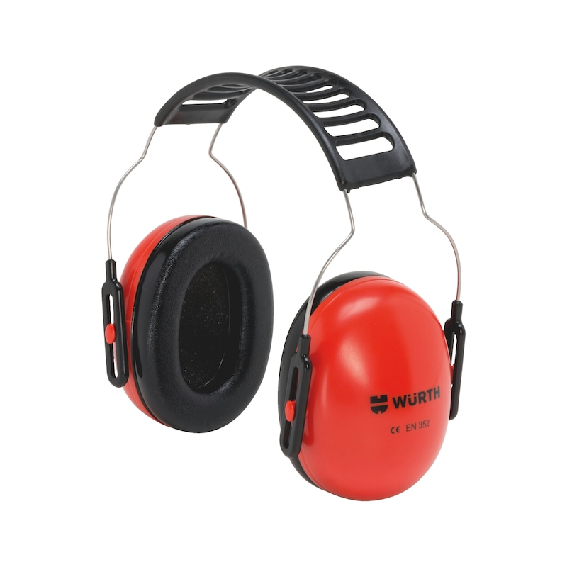 Ear defenders with a universal headband