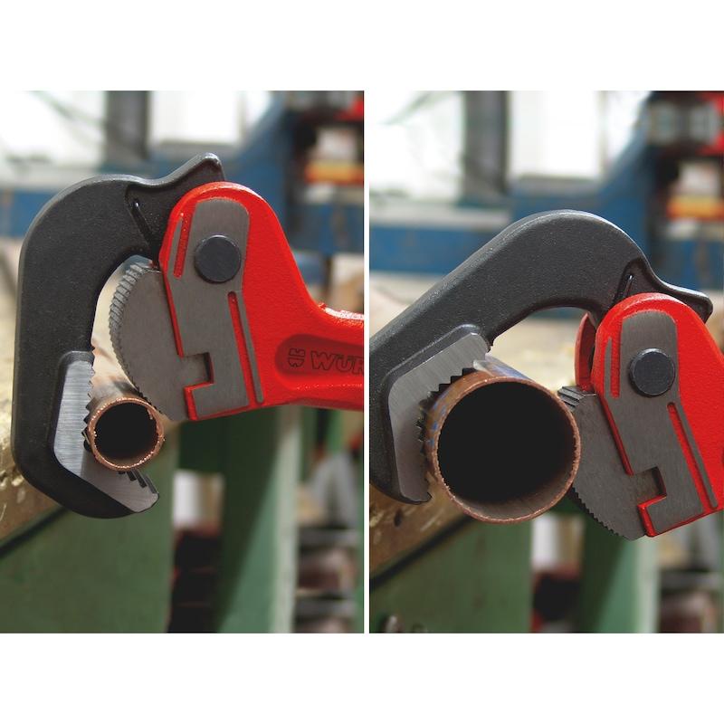 Alicate para tubos, fecho automático, punho mestre - 0