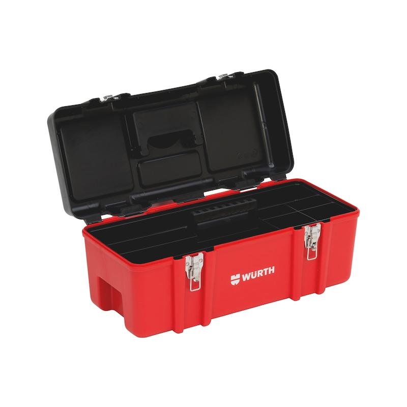 Tool box Polypropylene premium - TLCASE-PLA-584X260X248MM