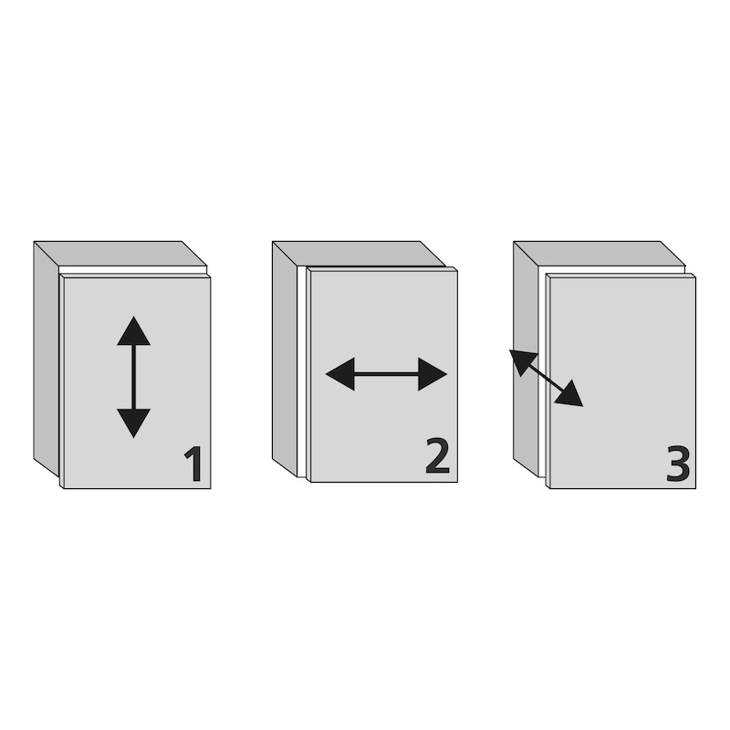 Plaque de montage linéaire 1D  Ancrage TIOMOS - 4