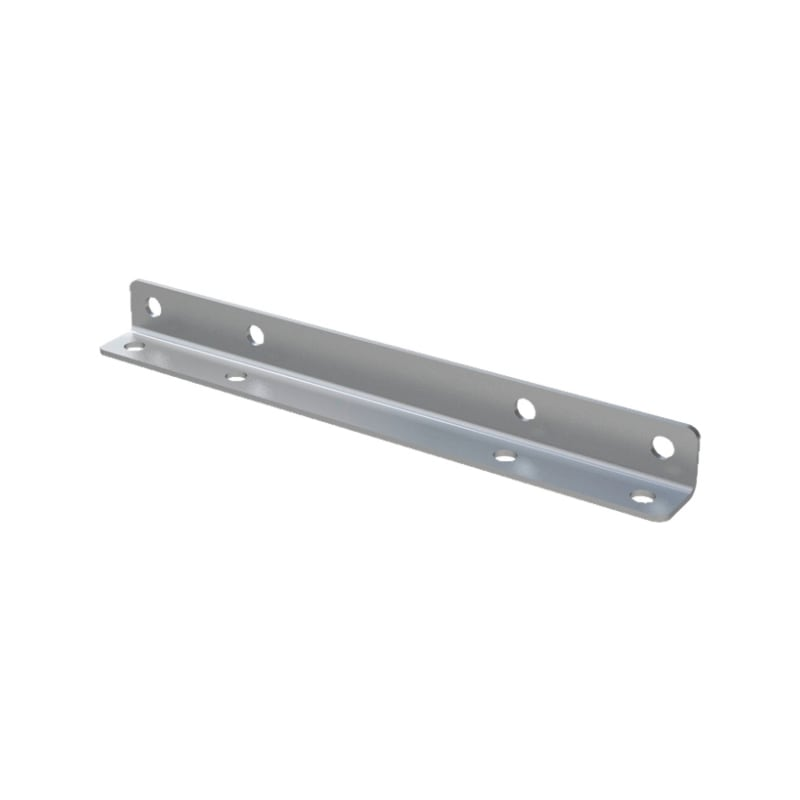 ABS Befestigung für Fassadenkurve - 1