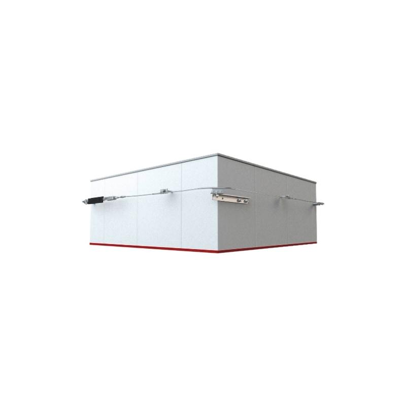 ABS Befestigung für Fassadenkurve - 2