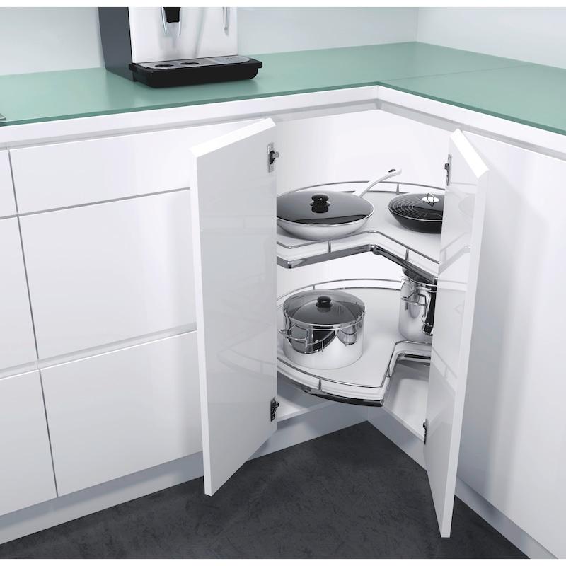 Plateaux tournants pour meubles d'angles Kit VS COR Wheel Pro 3/4 - 1