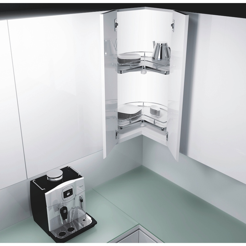 Plateaux tournants pour meubles d'angles Kit VS COR Wheel Pro 3/4 - 3