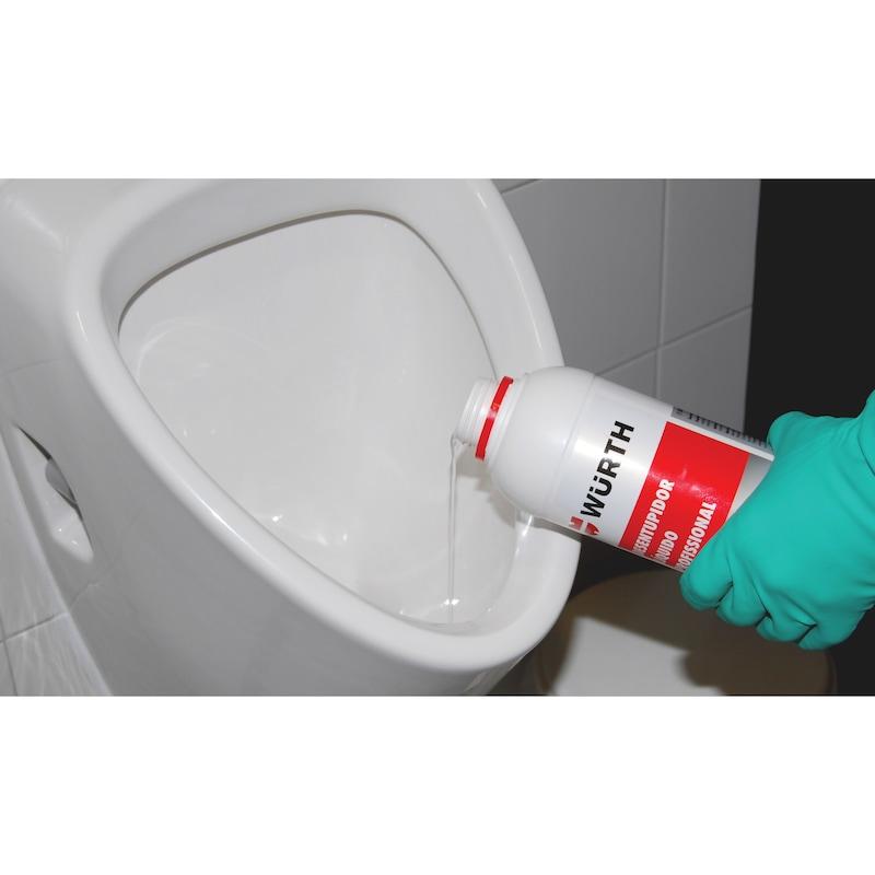 Desentupidor líquido Profissional - DESENTUPIDOR LIQUIDO PROFISSIONAL 1L