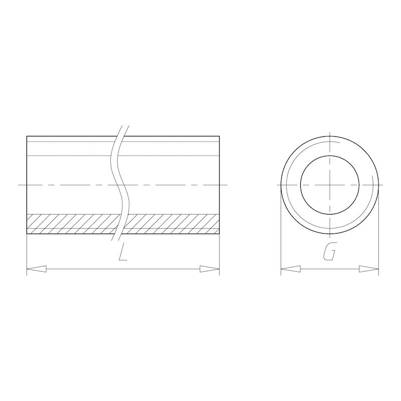 achetez tube d 39 entretoise 0862900436 en ligne. Black Bedroom Furniture Sets. Home Design Ideas