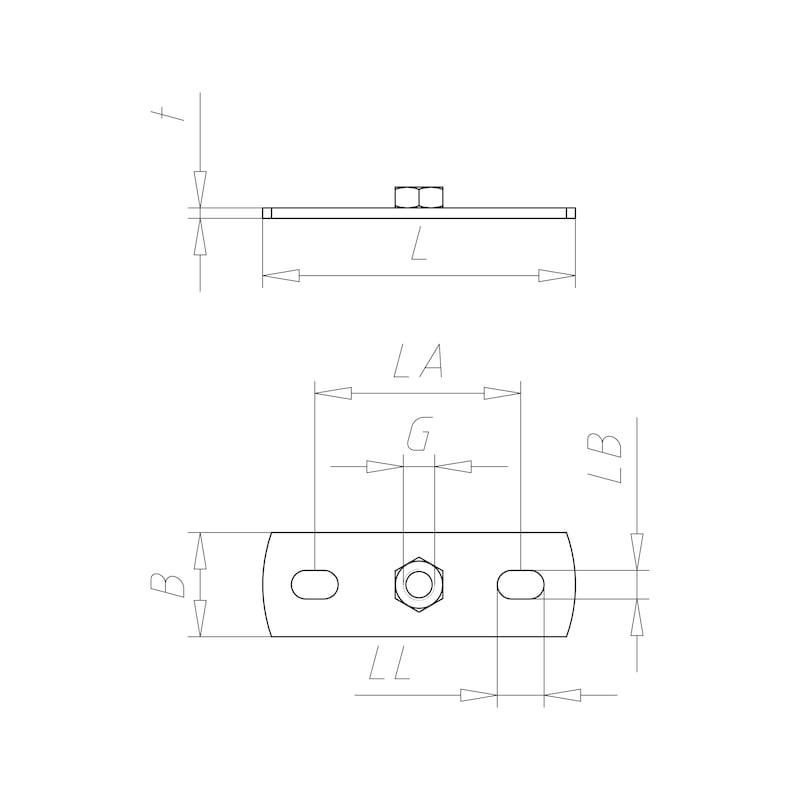 VARIFIX<SUP>® </SUP>Grundplatte - C2C - 2