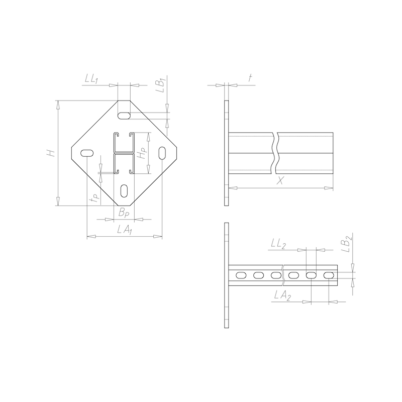 VARIFIX<SUP>® </SUP>Konsole 41/82 - C2C - 2
