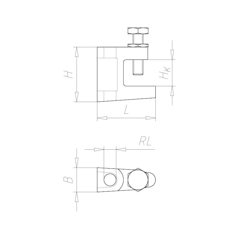 VARIFIX<SUP><SUB>®</SUB></SUP> Trägerklammer Standard - 2