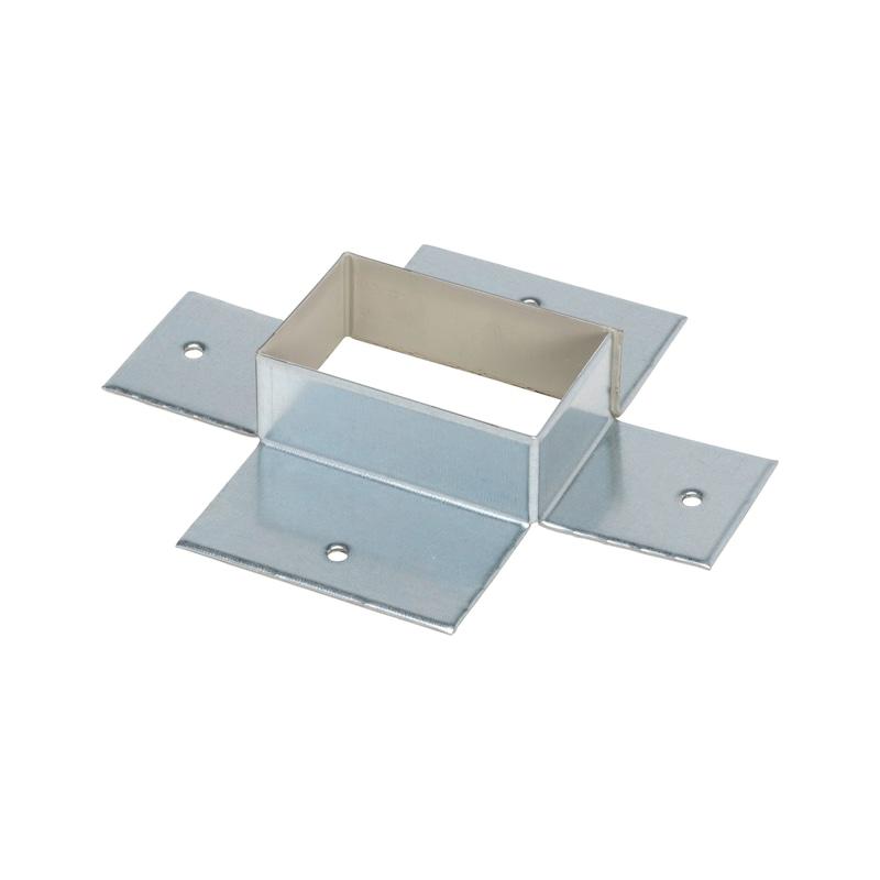 Brandschutzkanal Wandanschlusskragen I30 / I60 / I90 / I120