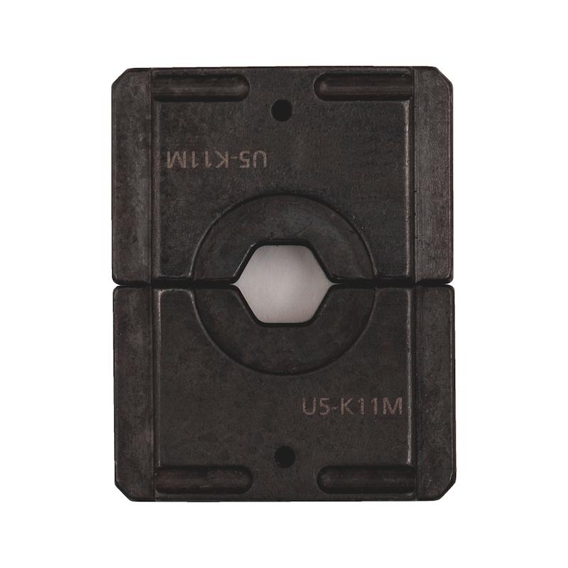 """Matrice per derivazione a """"C"""" per pressa idraulica manuale PM 240-N"""
