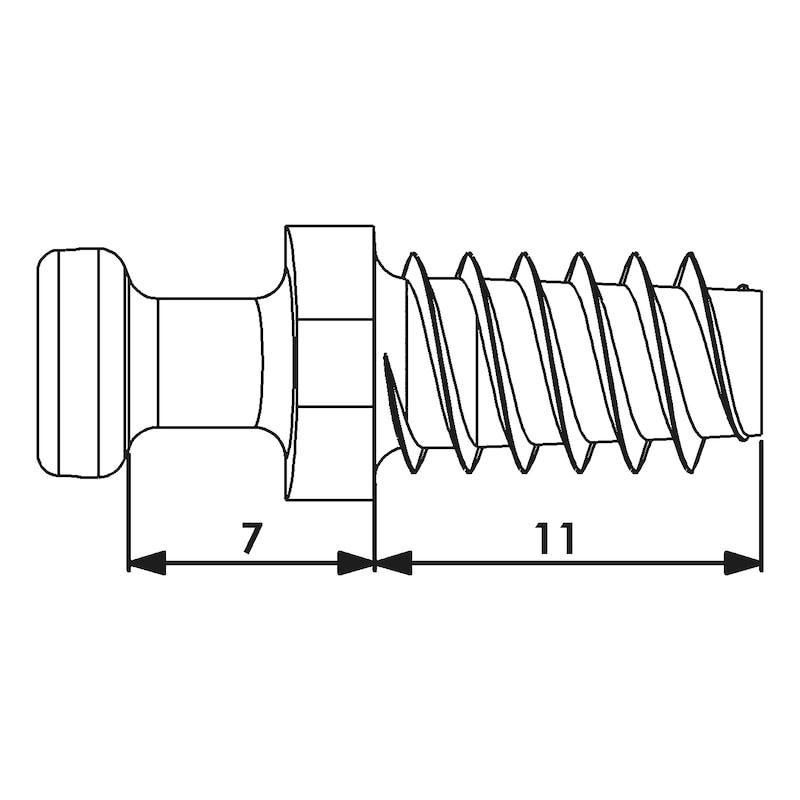 Systembolzen - ZB-SYSBLZ-SYSVERB-SV20E-AW20-ZD-(ZN)