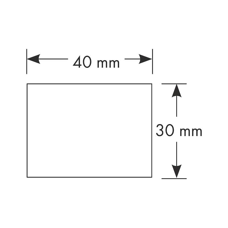 Listello per taglio termico davanzale - LISTELLO TAGLIO TERMIC 30X40MM 2,15M