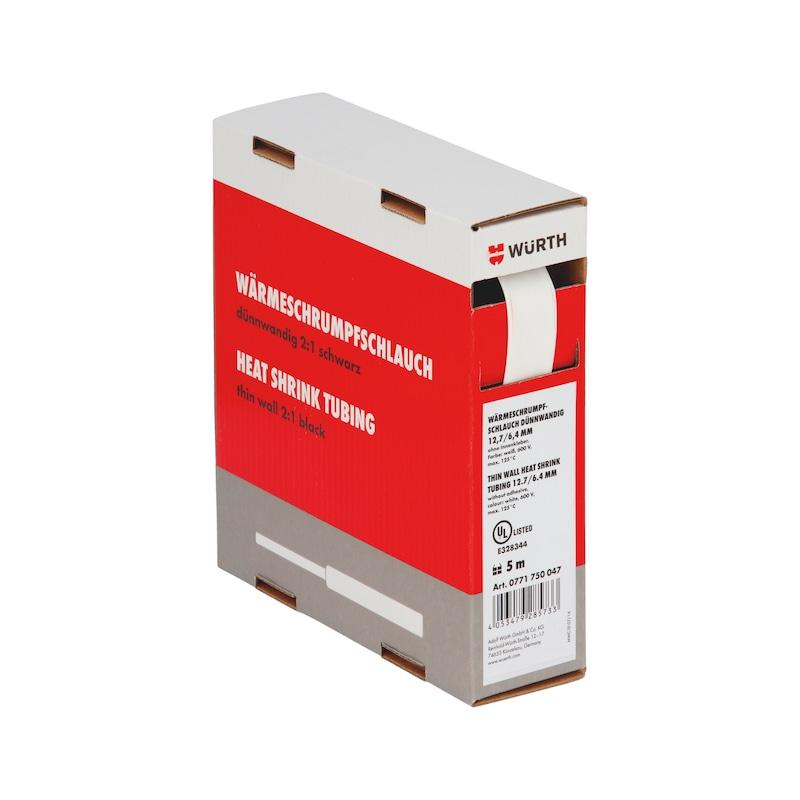 Guaina termoretraibile sottile - GUAINA-TERM-CART-BIANCA-(1,6-0,8MM)