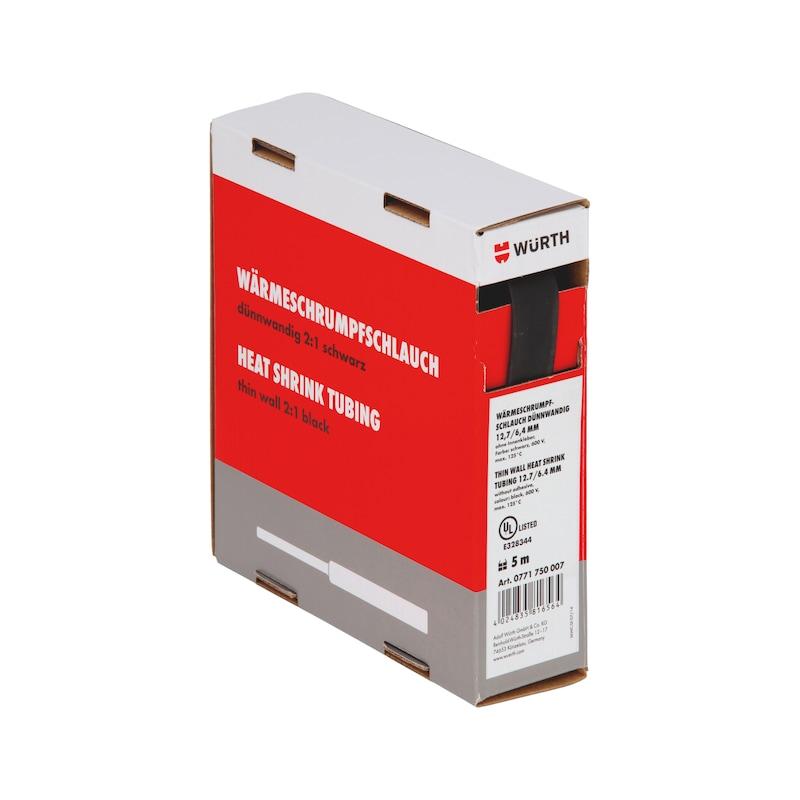 Guaina termoretraibile sottile - GUAINA-TERM-CART-NERA-(3,2-1,6MM)